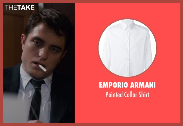 Emporio Armani white shirt from Life seen with Robert Pattinson (Dennis Stock)
