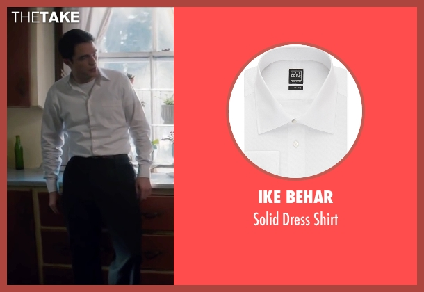Ike Behar white shirt from Life seen with Robert Pattinson (Dennis Stock)