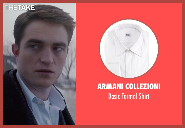 Armani Collezioni white shirt from Life seen with Robert Pattinson (Dennis Stock)