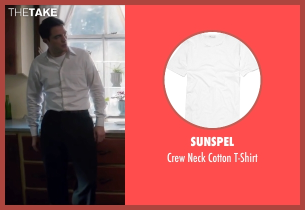 Sunspel white t-shirt from Life seen with Robert Pattinson (Dennis Stock)