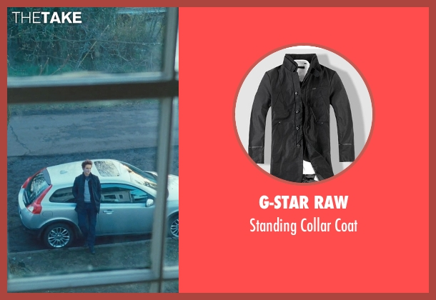 G-Star Raw black coat from Twilight seen with Robert Pattinson (Edward Cullen)