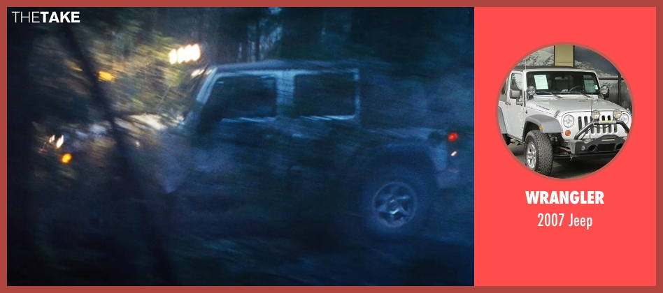 Wrangler jeep from Twilight seen with Robert Pattinson (Edward Cullen)