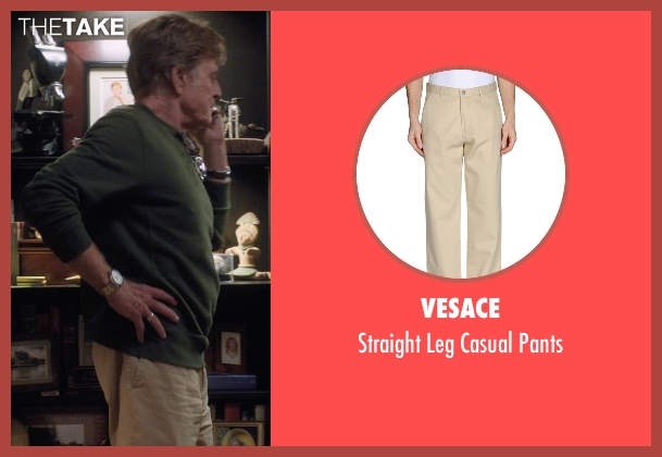 Vesace beige pants from A Walk in the Woods seen with Robert Redford (Bill Bryson)