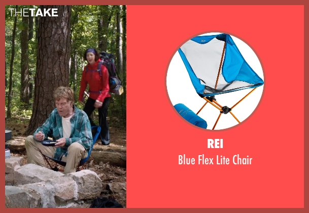 REI chair from A Walk in the Woods seen with Robert Redford (Bill Bryson)