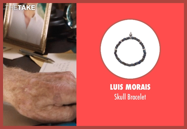 Luis Morais gray bracelet from A Walk in the Woods seen with Robert Redford (Bill Bryson)