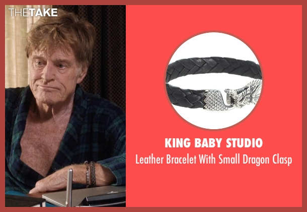 King Baby Studio gray clasp from A Walk in the Woods seen with Robert Redford (Bill Bryson)