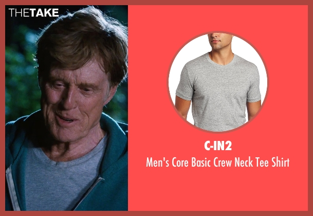 C-IN2 gray shirt from A Walk in the Woods seen with Robert Redford (Bill Bryson)