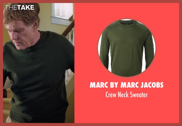 Marc By Marc Jacobs green sweater from A Walk in the Woods seen with Robert Redford (Bill Bryson)