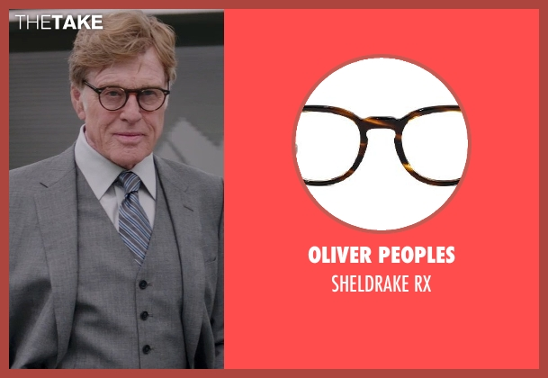 Oliver Peoples rx from Captain America: The Winter Soldier seen with Robert Redford (Alexander Pierce)