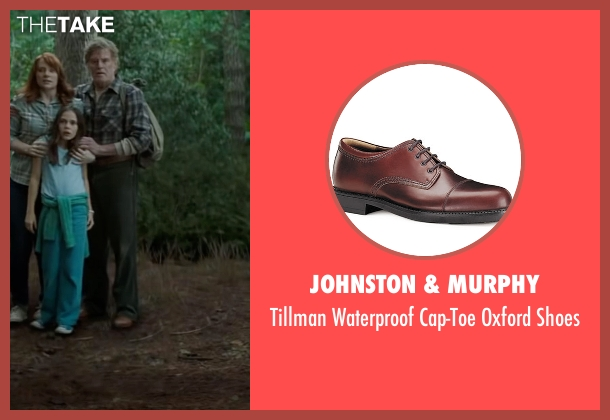 Johnston & Murphy brown shoes from Pete's Dragon seen with Robert Redford (Grace's Father)