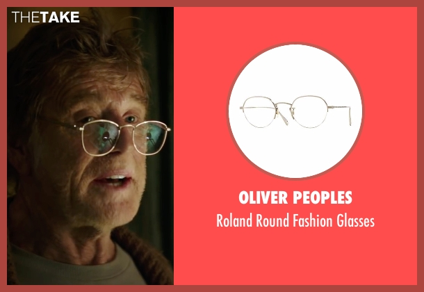 Oliver Peoples silver glasses from Pete's Dragon seen with Robert Redford (Grace's Father)