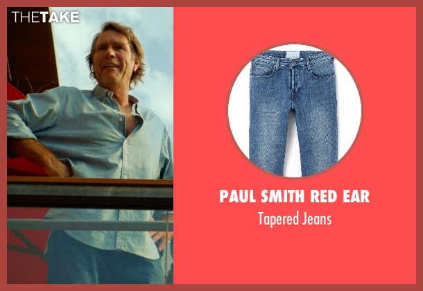 Paul Smith Red Ear blue jeans from Focus seen with Robert Taylor (McEwen)