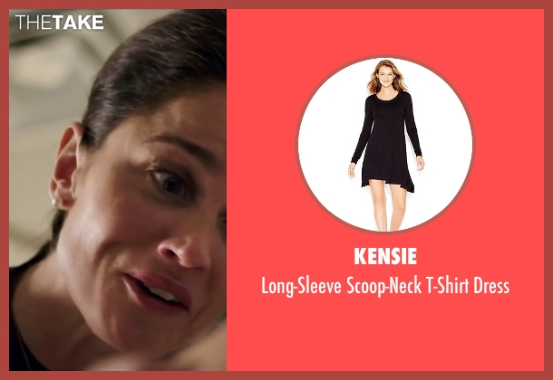 Kensie black dress from My All American seen with Robin Tunney (Gloria Steinmark)