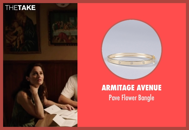 Armitage Avenue gold bangle from My All American seen with Robin Tunney (Gloria Steinmark)