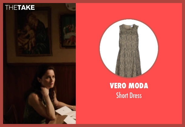 Vero Moda green dress from My All American seen with Robin Tunney (Gloria Steinmark)