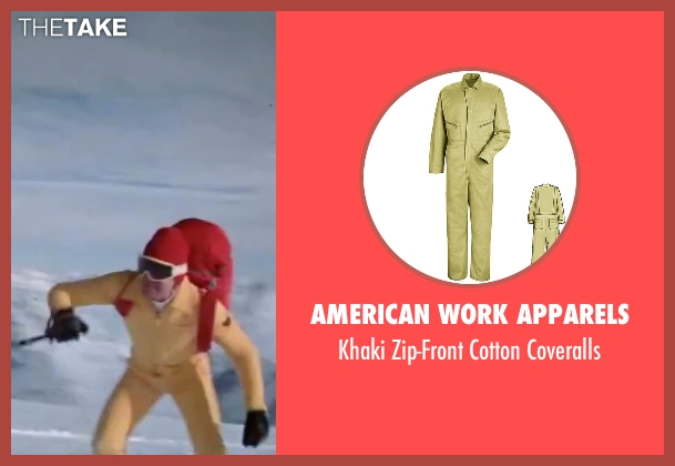 American Work Apparels coveralls from The Spy Who Loved Me seen with Roger Moore (James Bond)