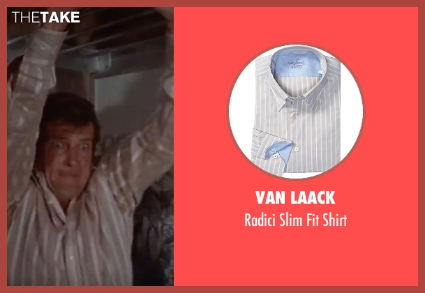 Van Laack white shirt from The Spy Who Loved Me seen with Roger Moore (James Bond)