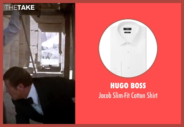 Hugo Boss white shirt from The Spy Who Loved Me seen with Roger Moore (James Bond)