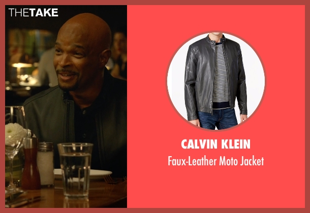Calvin Klein black jacket from Lethal Weapon seen with Roger Murtaugh (Damon Wayans)