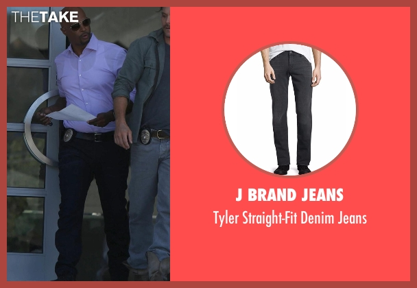 J Brand Jeans black jeans from Lethal Weapon seen with Roger Murtaugh (Damon Wayans)