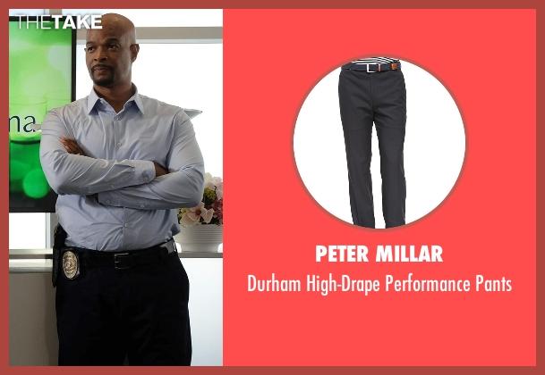 Peter Millar black pants from Lethal Weapon seen with Roger Murtaugh (Damon Wayans)