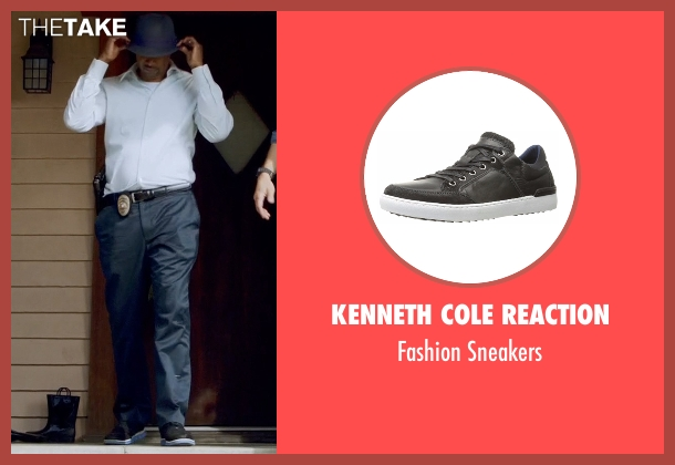 Kenneth Cole Reaction black sneakers from Lethal Weapon seen with Roger Murtaugh (Damon Wayans)