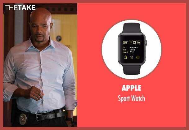 Apple black watch from Lethal Weapon seen with Roger Murtaugh (Damon Wayans)