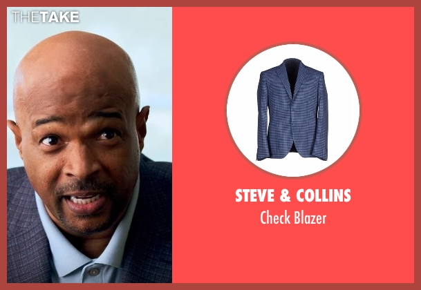 Steve & Collins blue blazer from Lethal Weapon seen with Roger Murtaugh (Damon Wayans)