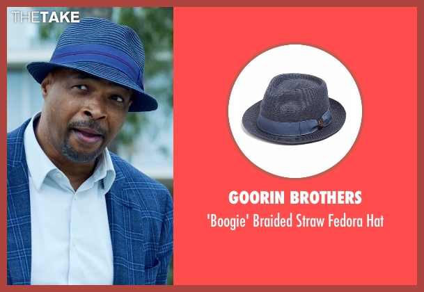 Goorin Brothers blue hat from Lethal Weapon seen with Roger Murtaugh (Damon Wayans)