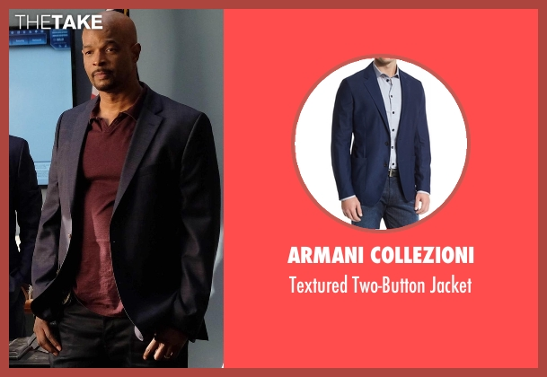 Armani Collezioni blue jacket from Lethal Weapon seen with Roger Murtaugh (Damon Wayans)