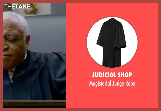 Judicial Shop robe from Ted 2 seen with Ron Canada (The Judge)
