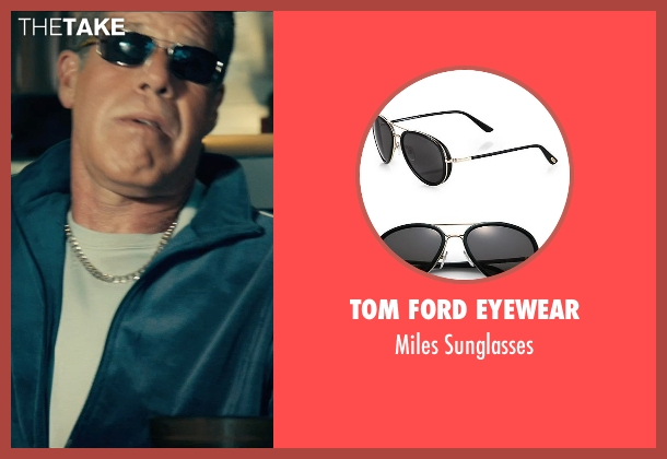 Tom Ford Eyewear black sunglasses from Drive seen with Ron Perlman (Nino)
