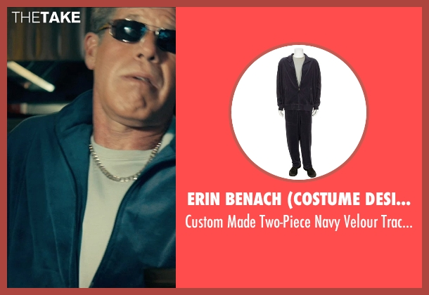 Erin Benach (Costume Designer) blue jacket from Drive seen with Ron Perlman (Nino)