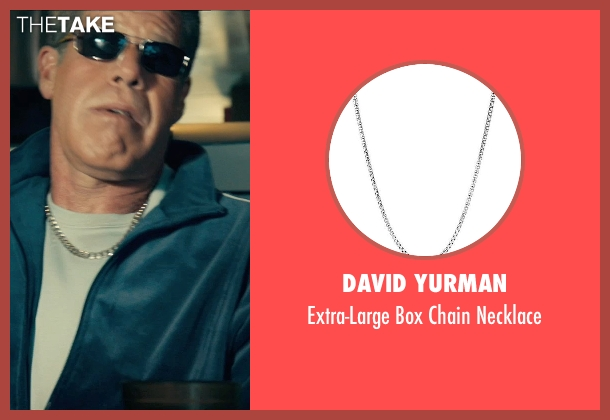 David Yurman silver necklace from Drive seen with Ron Perlman (Nino)