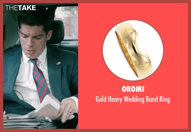 Oromi gold ring from Absolutely Anything seen with Ronan Summers (Unknown Character)