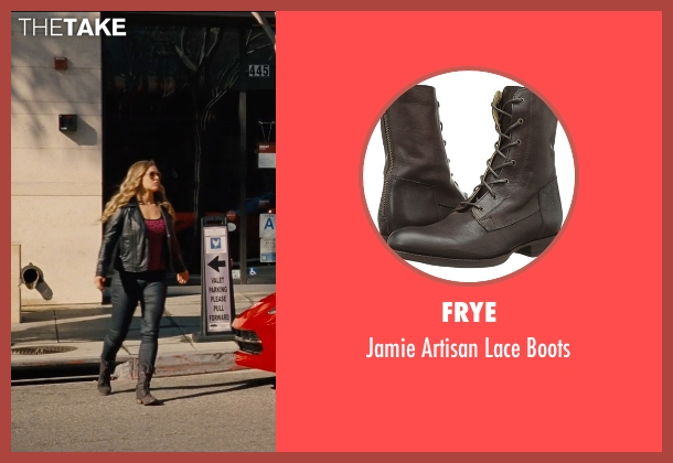 Frye brown boots from Entourage seen with Ronda Rousey