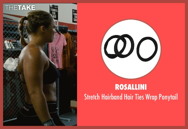 Rosallini ponytail from Entourage seen with Ronda Rousey