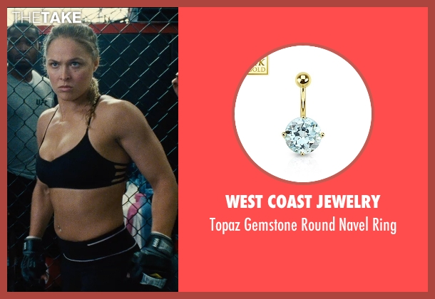 West Coast Jewelry ring from Entourage seen with Ronda Rousey