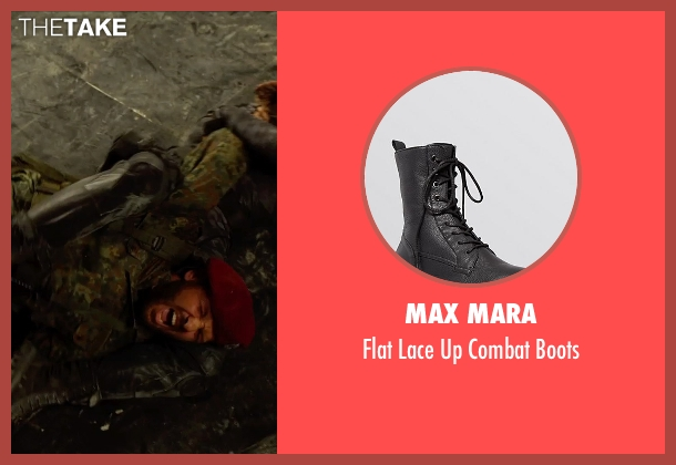 Max Mara black boots from The Expendables 3 seen with Ronda Rousey (Luna)