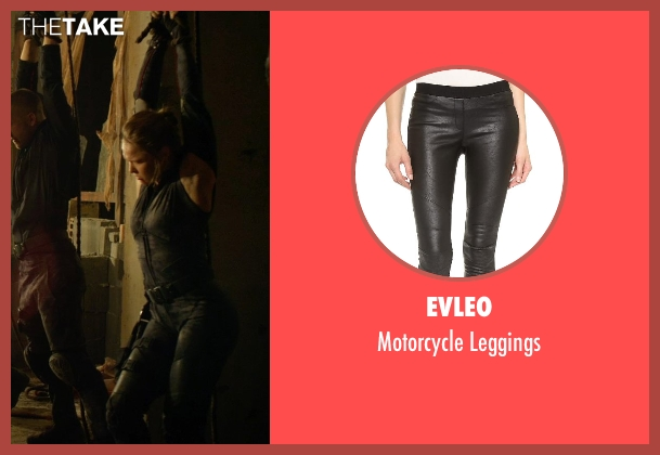 Evleo black leggings from The Expendables 3 seen with Ronda Rousey (Luna)