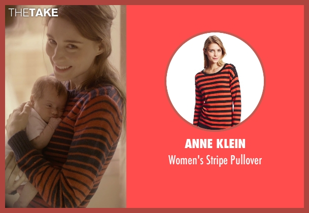 Anne Klein red pullover from Her seen with Rooney Mara (Catherine)