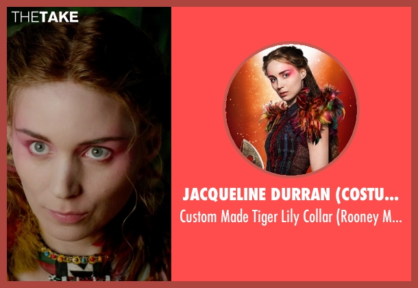 Jacqueline Durran (Costume Designer) collar from Pan seen with Rooney Mara (Tiger Lily)