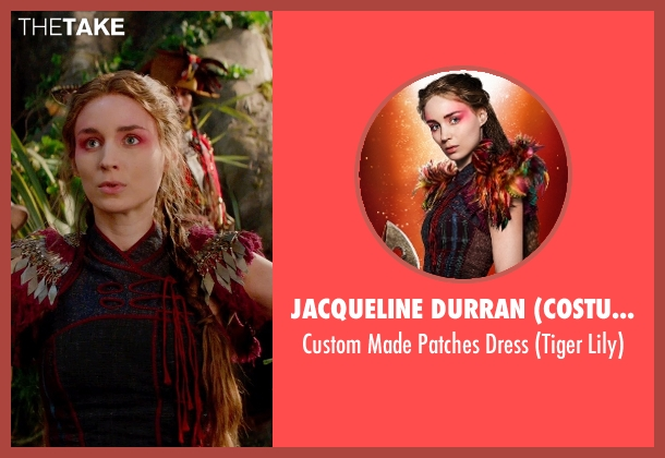 Jacqueline Durran (Costume Designer) dress from Pan seen with Rooney Mara (Tiger Lily)