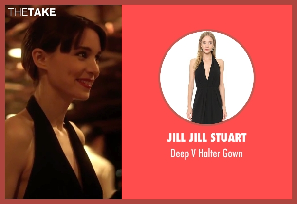 Jill Jill Stuart black gown from Side Effects seen with Rooney Mara (Emily Taylor)