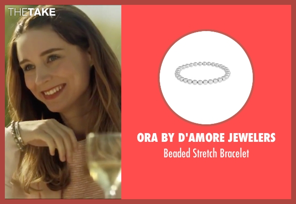 Ora By D'Amore Jewelers silver bracelet from Side Effects seen with Rooney Mara (Emily Taylor)