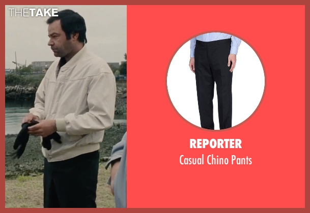Reporter black pants from Black Mass seen with Rory Cochrane (Steve Flemmi)