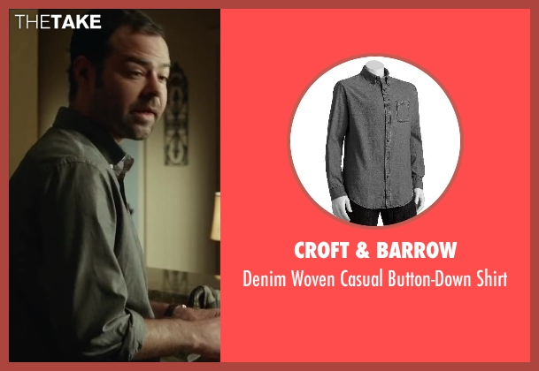 Croft & Barrow gray shirt from Oculus seen with Rory Cochrane (Alan Russell)