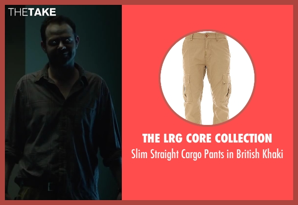 The LRG Core Collection khaki from Oculus seen with Rory Cochrane (Alan Russell)
