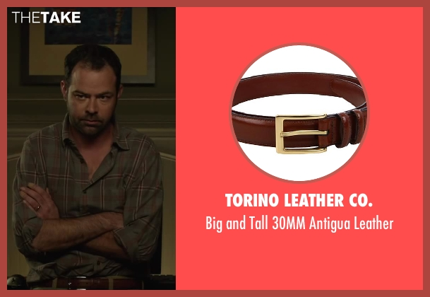 Torino Leather Co. leather from Oculus seen with Rory Cochrane (Alan Russell)