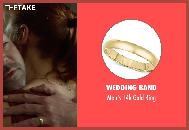 Wedding Band ring from Oculus seen with Rory Cochrane (Alan Russell)